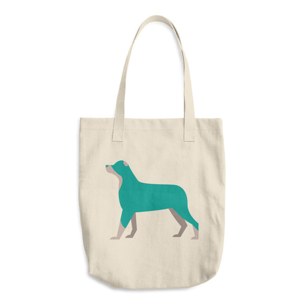 Doggy Cotton Tote Bag