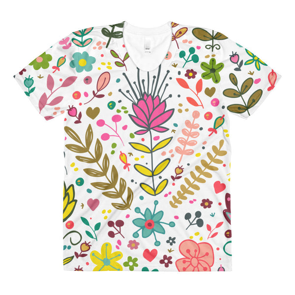 April women's crew neck t-shirt