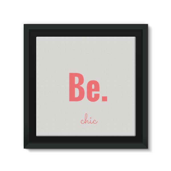 Be.chic Framed EcoCanvas