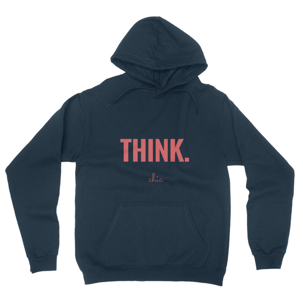 THINK.chic California Fleece Pullover Hoodie