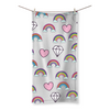 Rainbow Diamond Beach Towel