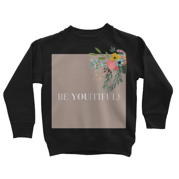 Be You (Purposefully) Kids Sweatshirt