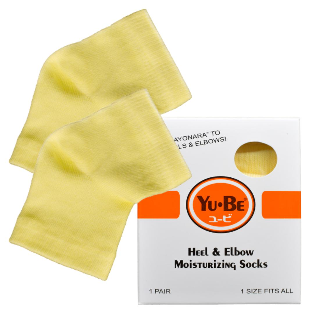 Heel & Elbow Moisturizing Socks - Yu-Be