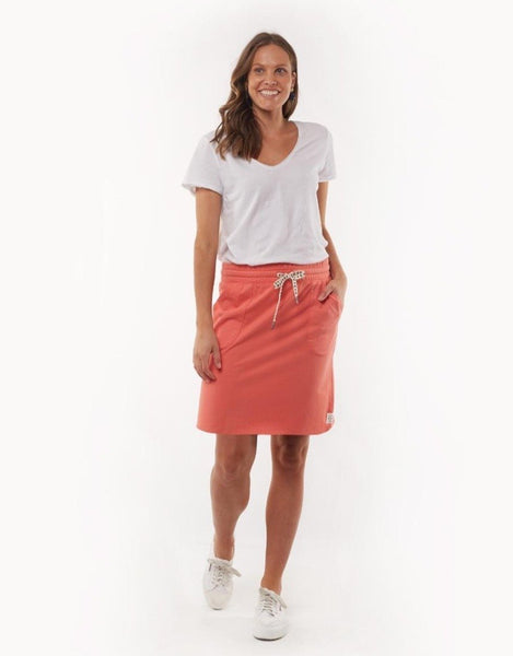 Hello Pattern Elm Cassie Skirt Melon