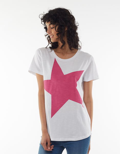 Hello Pattern Elm Super Star Tee