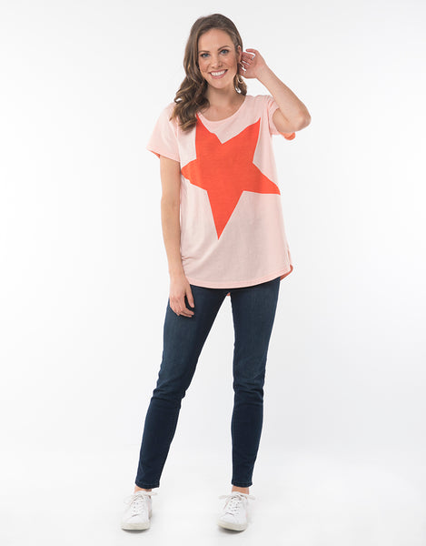 Elm Super Star Tee Hello Pattern