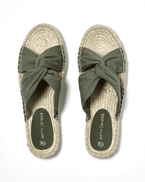 Betty Basics Coastal Espadrille Slide