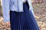 Mosk Pleated Skirt / Hello Pattern