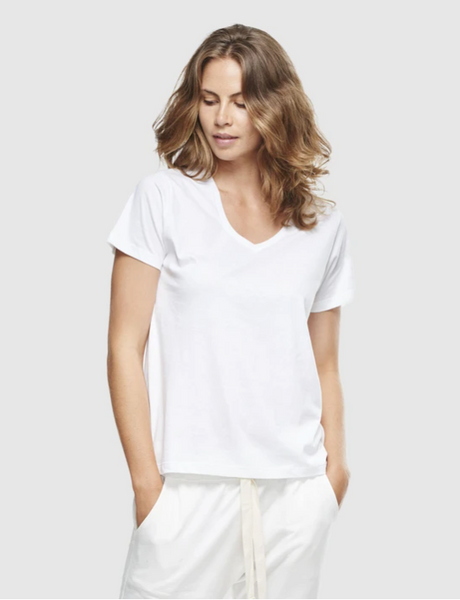 Cloth & Co Classic V Neck Tee