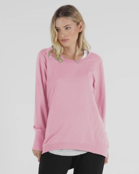 Betty Basics Dolly Sweat Peony Pink