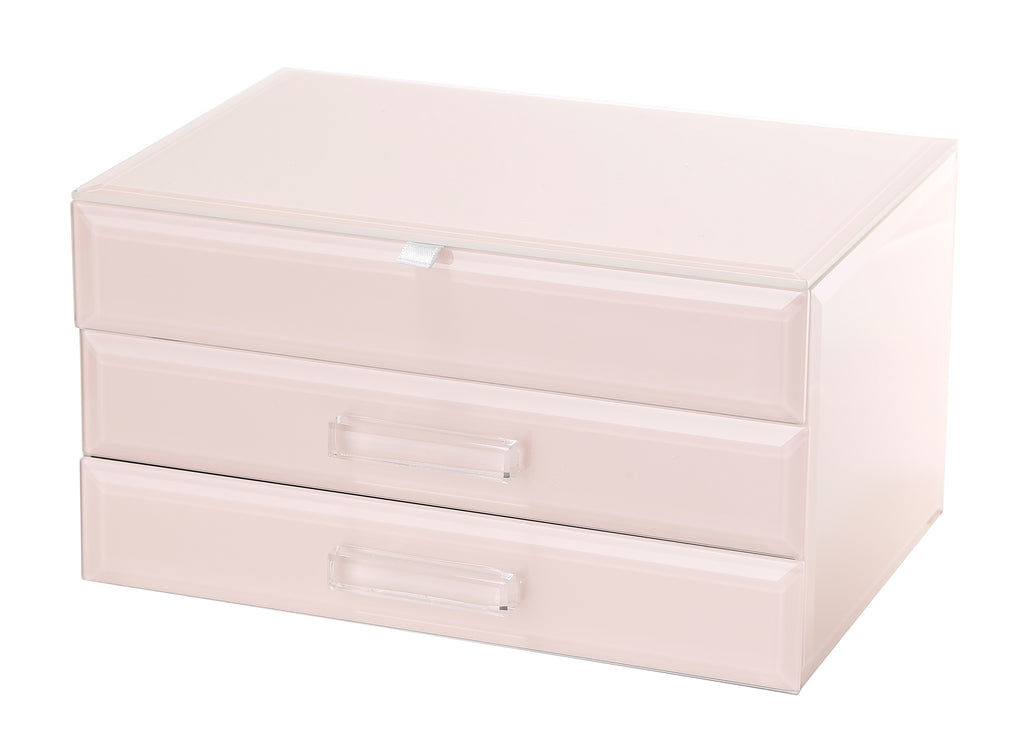 Gabriella Large Jewellery Box Blush Large