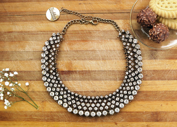 Coconut Crumb Statement Necklace