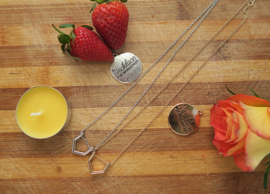 Pie Slice Dainty Necklace
