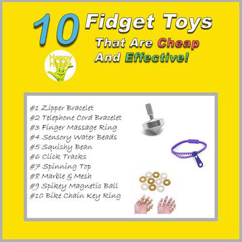 10 Fidget Toys That Are Cheap But Effective!