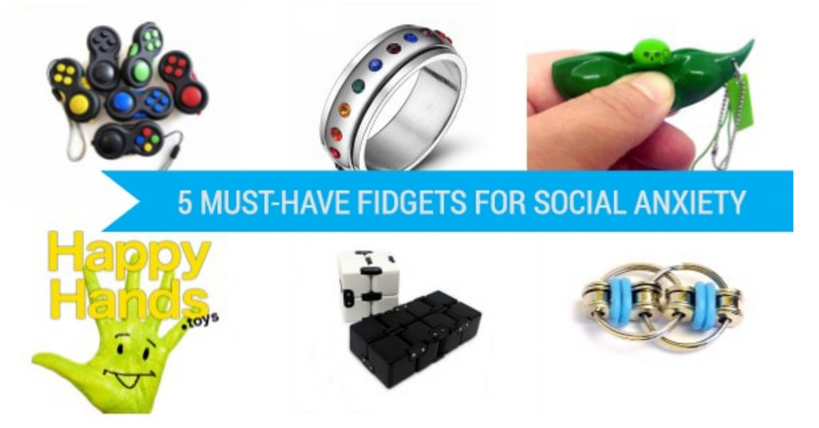 5 Must-Have Fidgets for Social Anxiety
