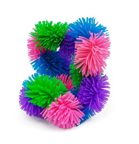 Hairy Tangle Fidget - Blue, Green, Purple, Pink - Happy Hands Toys