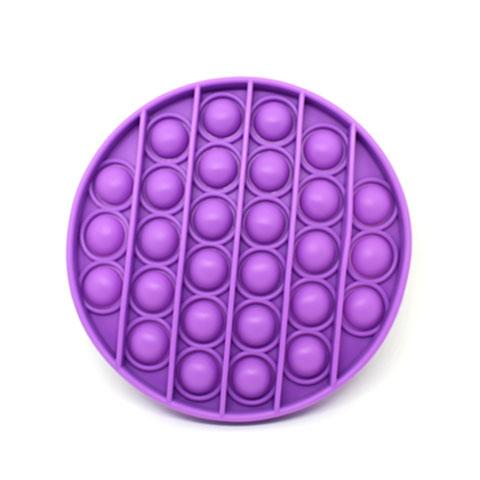 Silicone Bubble Pop Purple - Happy Hands Toys