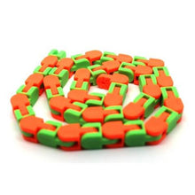 Click Tracks Green And Orange - Happy Hands Toys