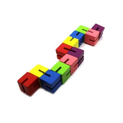 Elastic Puzzle Blocks - Happy Hands Toys