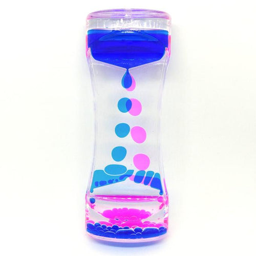 Oil Drip Timer Blue/Pink - Happy Hands Toys
