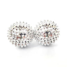 Spiky Magnetic Balls Silver - Happy Hands Toys