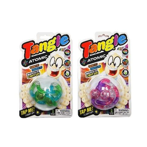 Tangle Toys Atomic - Photos Shows Package - Happy Hands Toys
