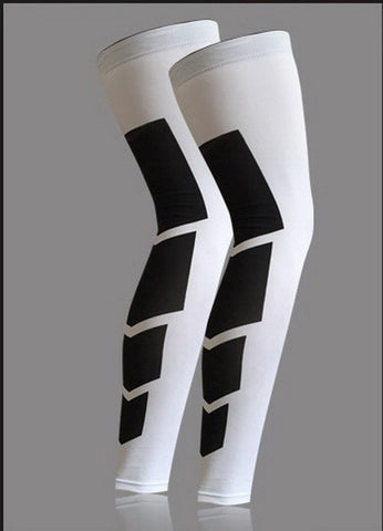 Super Elastic Lycra Leg Compression Sleeves