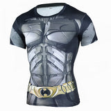 New 2017 Men's Fitness 3D Super Hero Compression Shirt