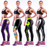 NEW Sexy Girl 3D Prints High Waist Fitness Leggings