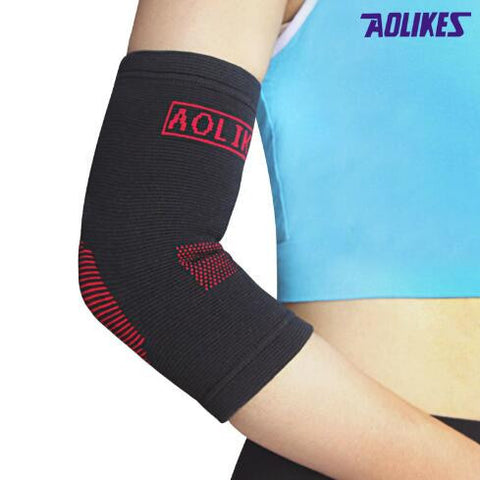 Sports Safety Elastic Elbow Knee Sleeve
