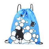 Jazzy Waterproof Double Layer Drawstring Backpacks