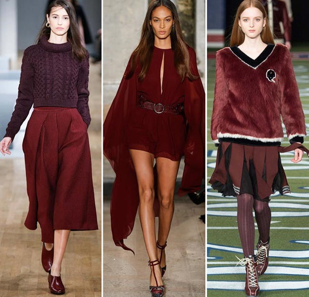 BURGUNDY IS THE NEW BLACK