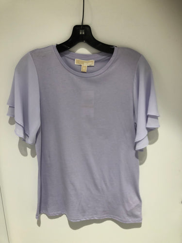 MICHAEL KORS - FLUTTER SLEEVE TEE - MS85LV46TF