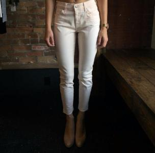 7 FOR ALL MANKIND - THE ANKLE SKINNY W/ RELEASED HEM - AU0420367A