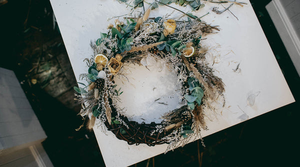 DRIED FLOWER SEASONAL WREATH MAKING WORKSHOP