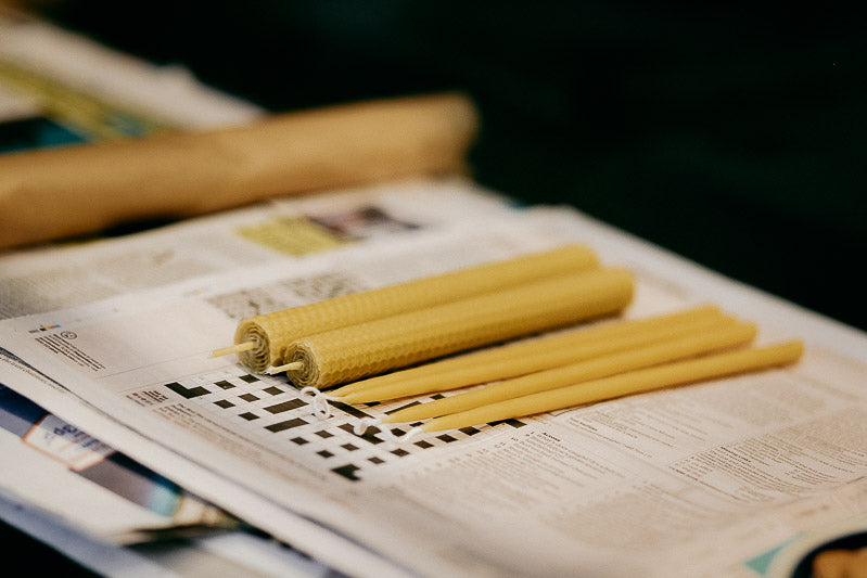 Travelling Basket Journal - Beeswax Candle Making Workshops - photo 16