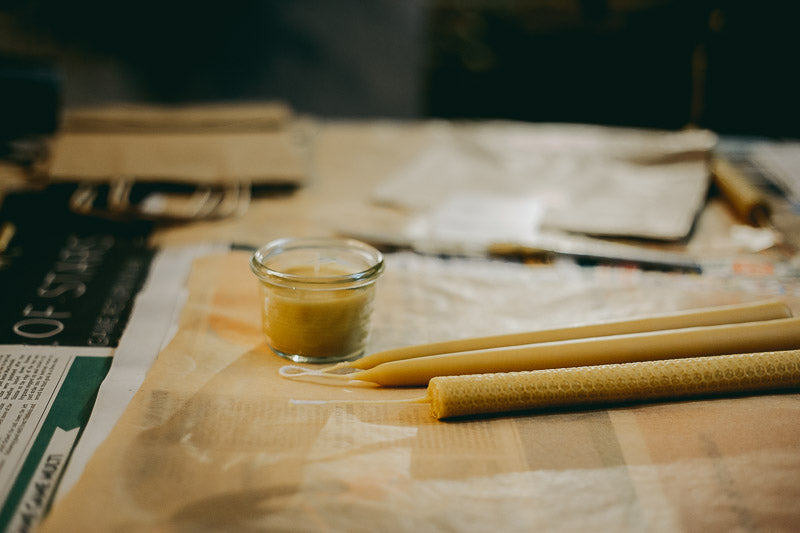 Travelling Basket Journal - Beeswax Candle Making Workshops - photo 23