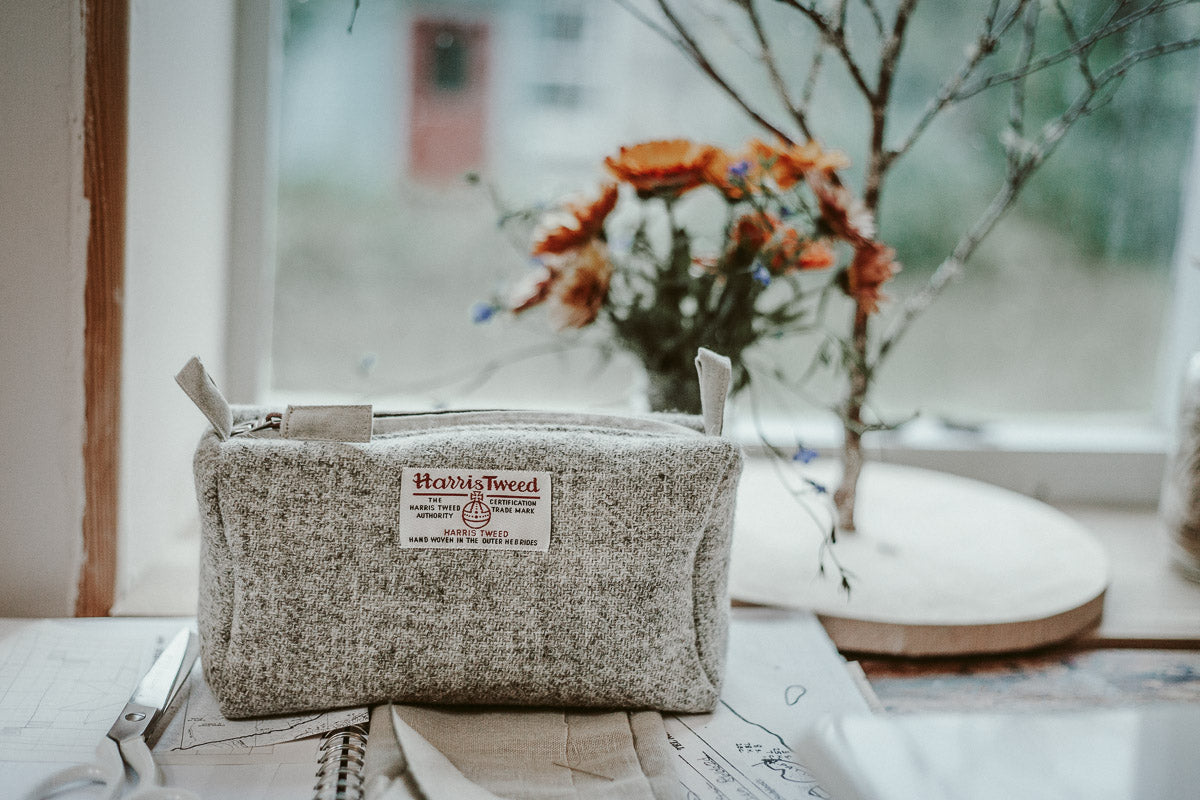 Handmade in the Highlands, Harris Tweed, Woollen Products, Travelling Basket, Know Your Makers