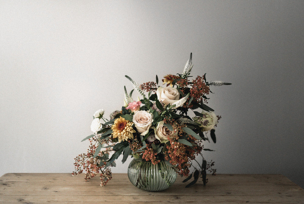 Edinburgh Florist, offering natural timeless bouquets and floral designs
