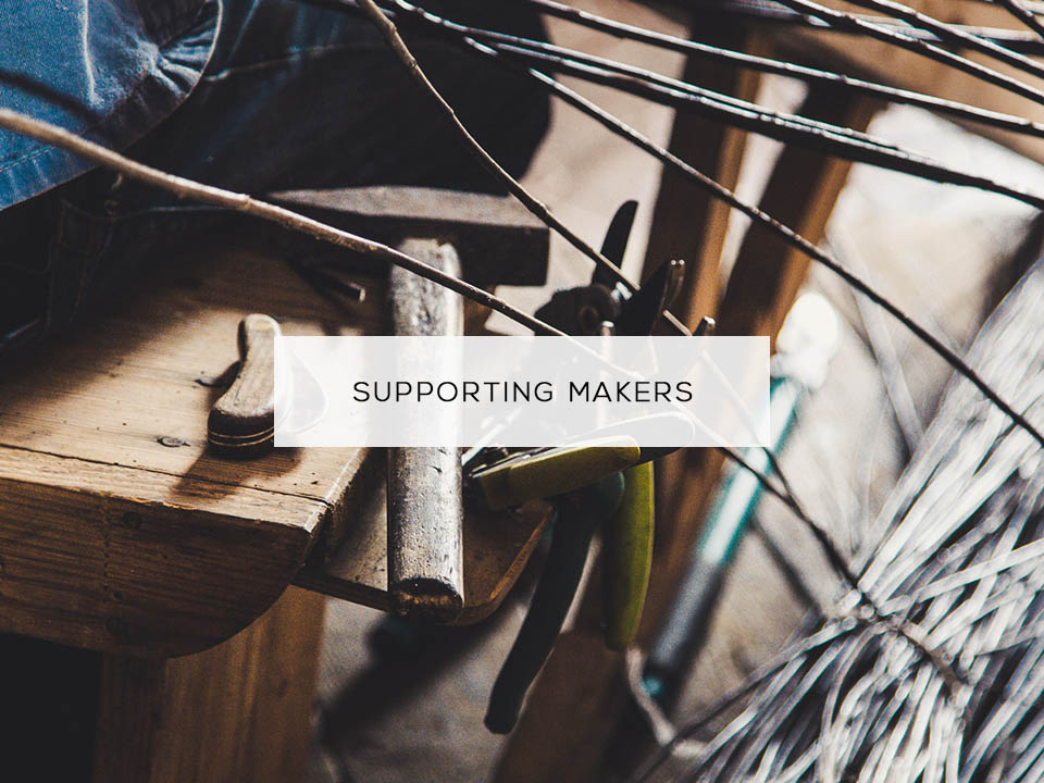 Travelling Basket supporting independent makers - meet the artisans of our baskets.