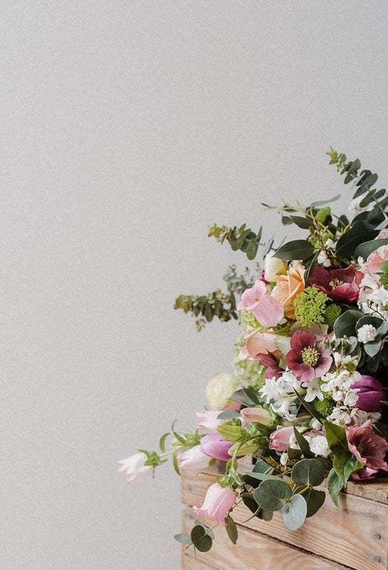 Edinburgh Marchmont florist offering seasonal blooms, natural styled bouquets, posies and dried flowers for everyday and special occasions
