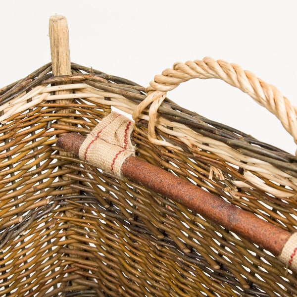 Back Pack Basket - Handmade Willow Basket