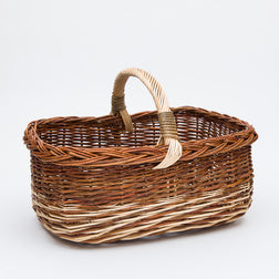 Short Handled Copper French Willow Shopper