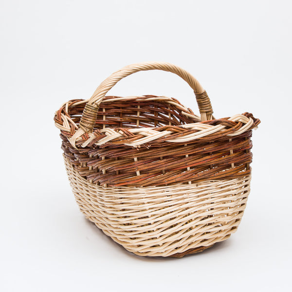 Short Handled Copper Willow Mix Shopper
