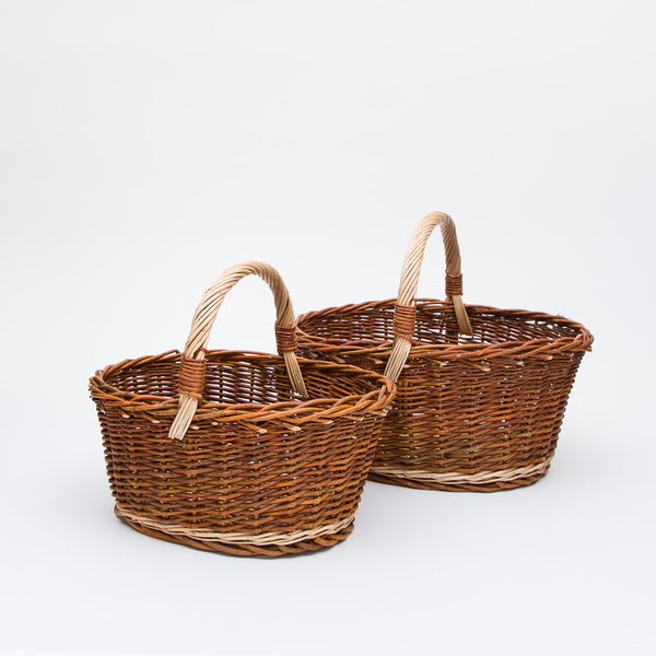The Red Willow Cuddy Basket