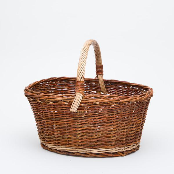 The Big Red Willow Cuddy Basket