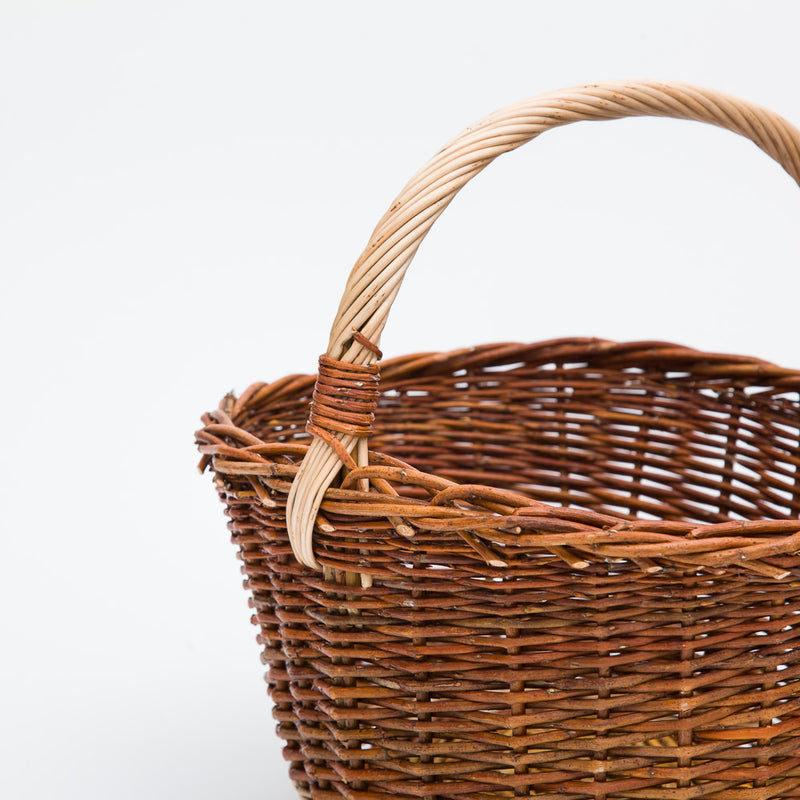 The Little Red Willow Cuddy Basket