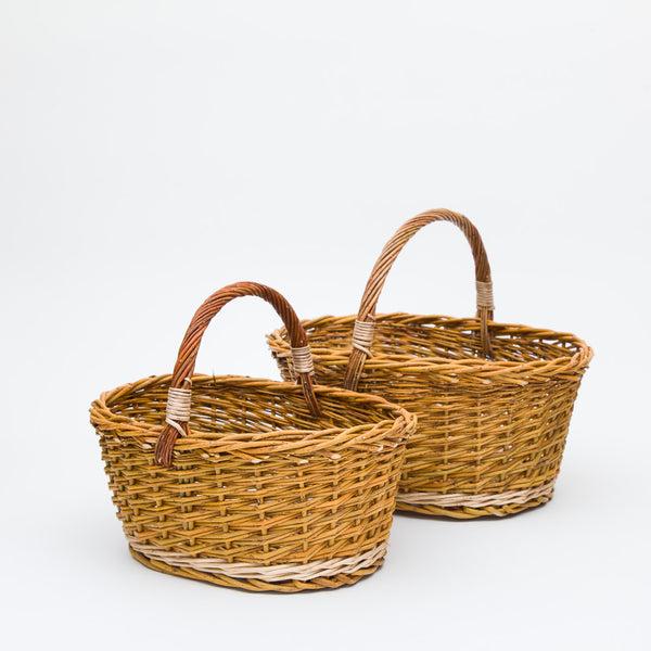 The Little Green Willow Cuddy Basket
