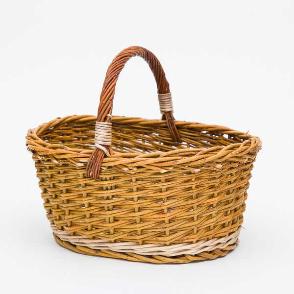 The Green Willow Cuddy Basket