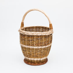 Mixed Willow Potato Basket